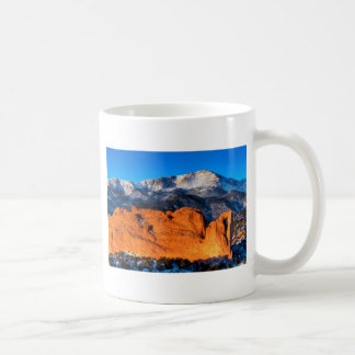 America's Mountain at Sunrise Coffee Mug