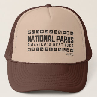 America's National Parks trucker hat