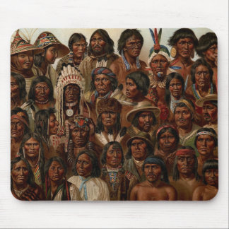 America's Natives Mouse Pad