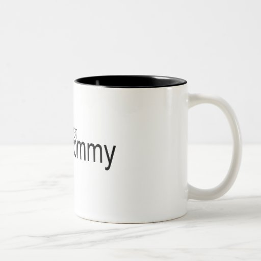Americas Next Top Mummy Two-Tone Mug