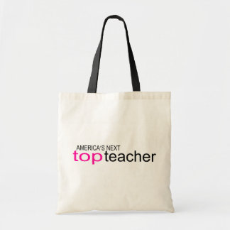 Americas Next Top Teacher Budget Tote Bag