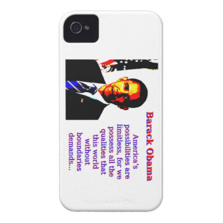 America's Possibilities Are Limitless - Barack Oba iPhone 4 Case