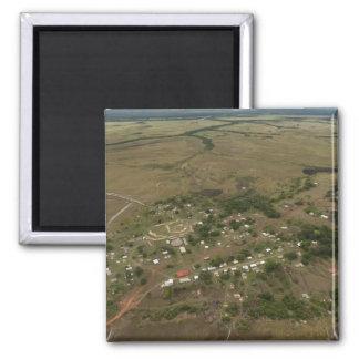 Amerindan Village. Seasonally-flooded Fridge Magnets