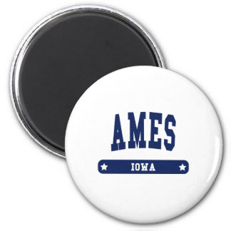 Ames Iowa College Style t shirts Magnets