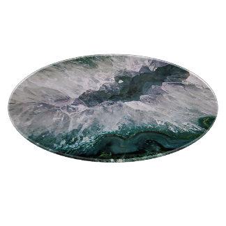Amethyst Abstract Cutting Board