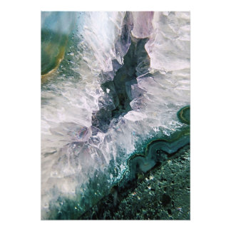 Amethyst Abstract Photo Print