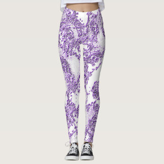 Amethyst Angelic Leggings