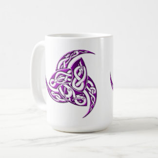 Amethyst Animal Triplehorn Coffee Mug