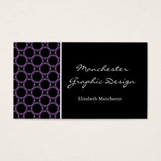 Amethyst Circles Business Card