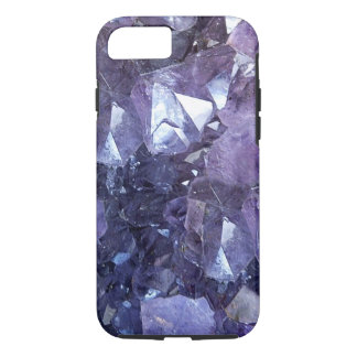 Amethyst Crystal Cluster iPhone 8/7 Case