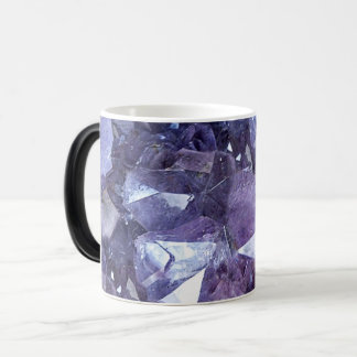Amethyst Crystal Cluster Magic Mug