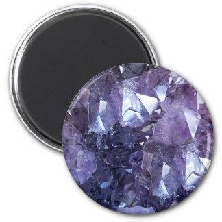 Amethyst Crystal Cluster Magnet