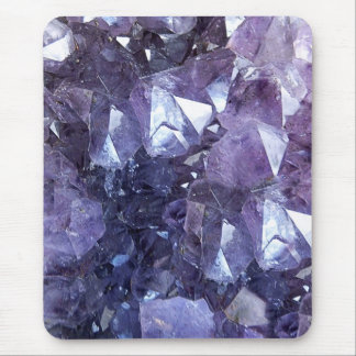 Amethyst Crystal Cluster Mouse Pad