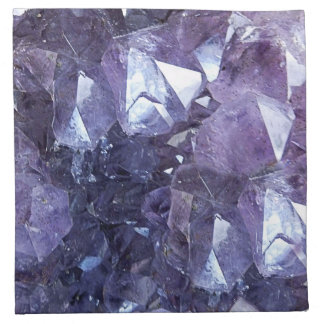Amethyst Crystal Cluster Napkin