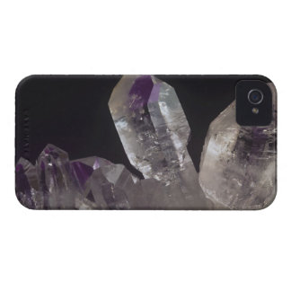 Amethyst Crystals iPhone 4 Cover