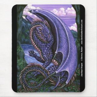 Amethyst Dragon Mousepad