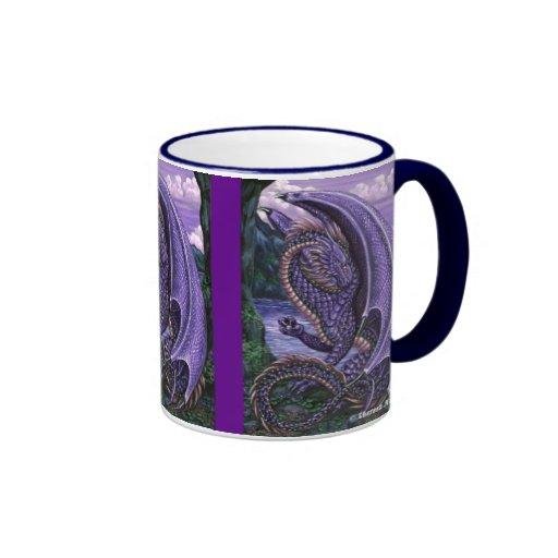 Amethyst Dragon Wraparound Mug