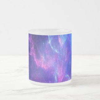 Amethyst Dreams Frosted Glass Coffee Mug