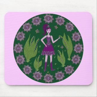 Amethyst Faerie Mouse Pad