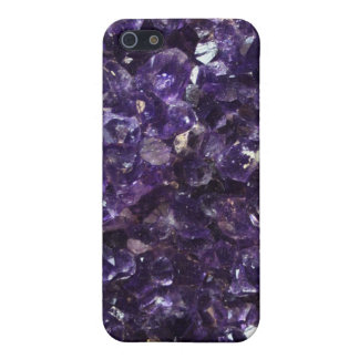 Amethyst Geode iPhone 5 Cover