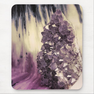Amethyst Geode Mouse Pad
