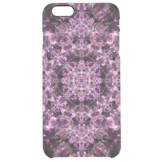 Amethyst Mandala Clear iPhone 6 Plus Case