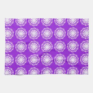 Amethyst Mandala Tea Towel
