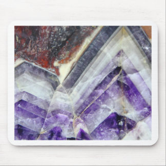Amethyst Mountain Quartz Mouse Pad