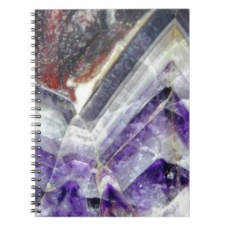 Amethyst Mountain Quartz Notebooks