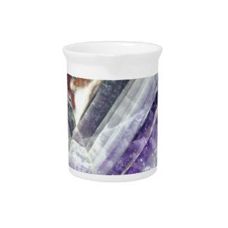 Amethyst Mountain Quartz Pitcher