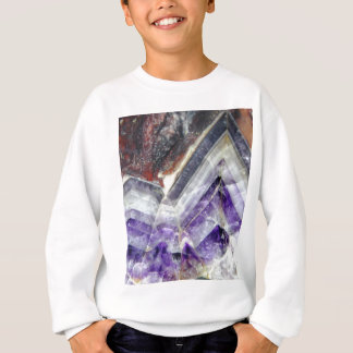 Amethyst Mountain Quartz Sweatshirt