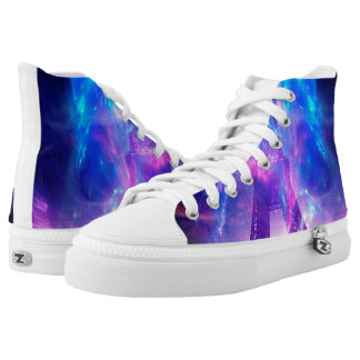 Amethyst Parisian Dreams High Tops