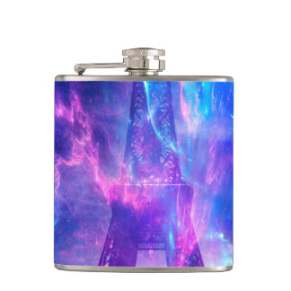 Amethyst Parisian Dreams Hip Flask