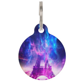 Amethyst Parisian Dreams Pet Tag