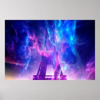 Amethyst Parisian Dreams Poster