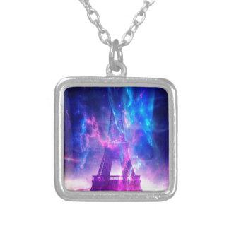 Amethyst Parisian Dreams Silver Plated Necklace