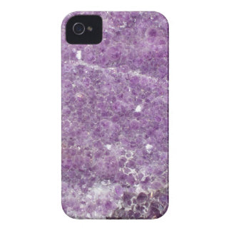Amethyst - Purple Crystal iPhone 4 Cases