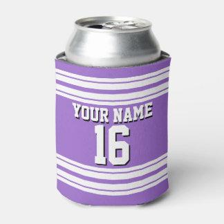 Amethyst Purple Wht Team Jersey Custom Number Name