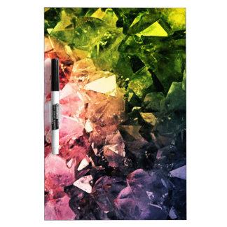 Amethyst Rainbow Dry Erase White Board