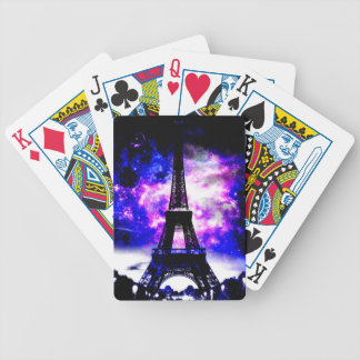 Amethyst Rose Parisian Dreams Bicycle Playing Cards