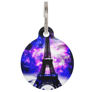 Amethyst Rose Parisian Dreams Pet Tag