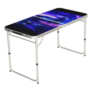 Amethyst Sapphire Bali Dreams Beer Pong Table