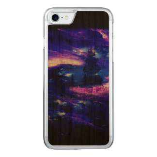 Amethyst Sapphire Bali Dreams Carved iPhone 7 Case