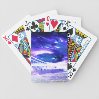 Amethyst Sapphire Budapest Dreams Bicycle Playing Cards