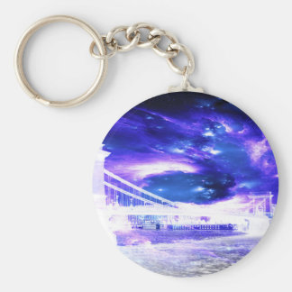 Amethyst Sapphire Budapest Dreams Key Ring