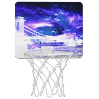 Amethyst Sapphire Budapest Dreams Mini Basketball Hoop