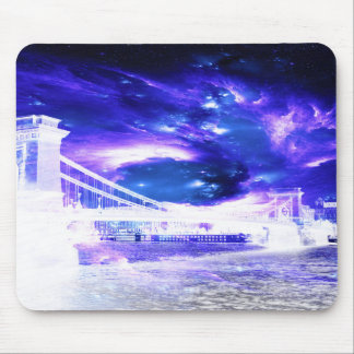 Amethyst Sapphire Budapest Dreams Mouse Pad