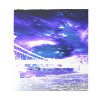 Amethyst Sapphire Budapest Dreams Notepad