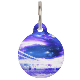Amethyst Sapphire Budapest Dreams Pet Name Tag