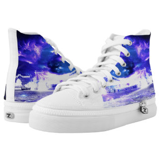 Amethyst Sapphire Budapest Dreams Printed Shoes